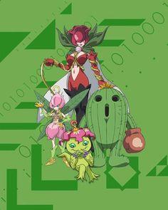 Palmon Togemon Lillymon Rosemon for her Human Friend Mimi Pokemon Vs Digimon, Pokemon Cards, Pokemon Go, Pokemon Fusion, Digimon Wallpaper, Iphone Wallpaper, Digimon Tattoo, Digimon Adventure 02, Digimon Tamers