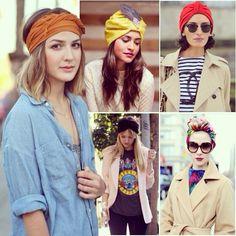 ¿Te gusta llevar complementos en el pelo?¿Usas turbantes? http://ideassoneventos.blogspot.com.es/?m=1 #ideassoneventos #inspiración #cabeza #looks #moda #outfit #ropa #fashion #fashionblogger #vestir #sombreros #pelo #turbantes