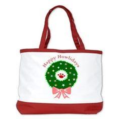 Happy Howlidays Shoulder Bag
