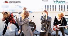 """LEDApple rock on with Queen's """"We Will Rock You"""" Led Apple, We Will Rock You, Korean Music, Cool Bands, Rocks, Kpop, Queen, Stone, Batu"""
