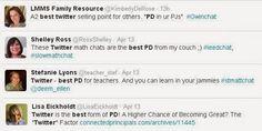 18th April 2015: How2 Make Sure Every Teacher Matters (Twitter Best PD)