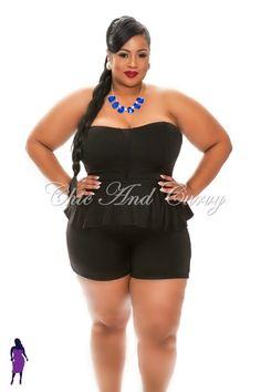 Rose/Black Gold Sequin Ladies Long Sleeve Playsuit Plus Size ...