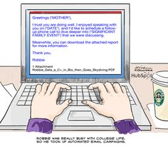Automated Email Messages to Mom!