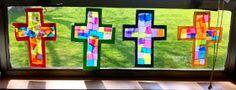 Kinder-Craze: A Kindergarten Blog: Lenten Crosses for Kinders