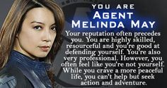 Marvel's Agents of S.H.I.E.L.D. - Personality Quiz - Which 'Marvel Agents of S.H.I.E.L.D.' Character Are You?