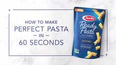 Save this recipe for an easy-to-prepare lunch that can be enjoyed right at your desk. Simply heat Barilla Ready Pasta for 60 seconds, then add arugula, tomatoes, cheese and Italian dressing for a quick and delicious meal.