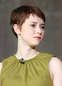 Pixie haircut awesome. She plays an amazing psycho. Love to hate her!