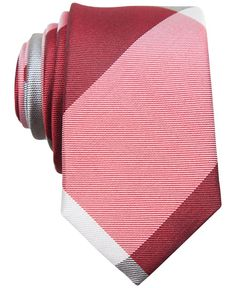 Penguin Delight Check Skinny Tie