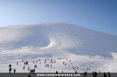 Ski center Falakro - Volakas - Drama - #Greece Macedonia, Greece Travel, Travel Guide, Skiing, Mountains, City, Nature, Dramas, Beautiful