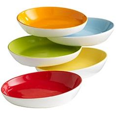 great bright colours and funky shape for smaller morsels.