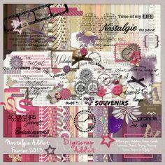 Scrapbooking TammyTags -- TT - Designer - Digiscrap Addict Collaboration, TT - Item - Kit or Collection