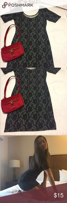 EUC Xhilaration Black Lace Print Dress Women's Size Medium Sexy Xhilaration Black Lace Print Dress. Excellent, Like NEW Condition. Worn only once. Sizes 4-6 would be ideal fit for this dress. Comes from smoke free and pet free home. 30% OFF BUNDLES OF 3 OR MORE! Xhilaration Dresses Mini