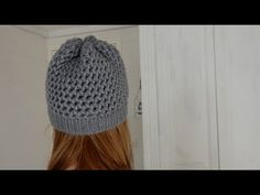 [ DIY ] Bonnet en point 8 et bord point endroit au tricotin circulaire