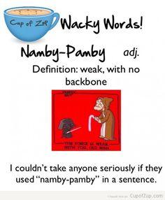 Namby-Pamby
