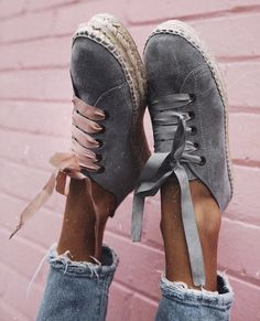 Spanish label Manebi's espadrilles sneakers Sock Shoes, Cute Shoes, Me Too Shoes, Shoe Boots, Shoe Bag, Flat Shoes, Shoes Sandals, Summer Sneakers, Summer Shoes