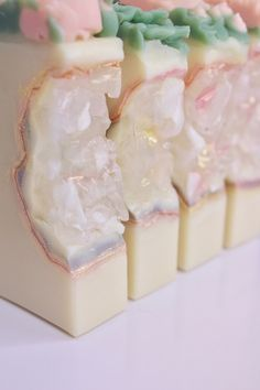 Best of the Best Soap Designs ~ Kabuki Rune ~ Trust me they are Lush You are in the right place abou Lush Soap, Lavender Soap, Melt And Pour, Soap Making Supplies, Soap Maker, Homemade Soap Recipes, Homemade Toys, Soap Packaging, Soap Molds