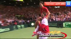 Wawrinka And Luthi Surprise Roger Federer clinching Davis Cup 2014 semi's!!  WOOT!