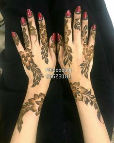 Super Embroidery Designs By Hand Butterfly Ideas Tribal Henna Designs, Full Mehndi Designs, Khafif Mehndi Design, Arabic Henna Designs, Mehndi Designs For Beginners, Mehndi Design Pictures, Henna Designs Easy, Mehndi Designs For Fingers, Dulhan Mehndi Designs