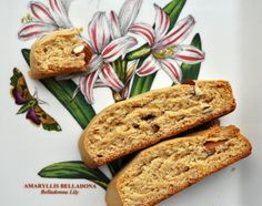 The delicate honey flavor of these biscotti is accented with notes of vanilla, lemon, and almond.
