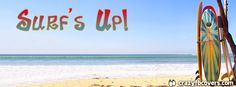 Surfs Up Facebook Cover - Facebook Timeline Cover Photo - Fb Cover
