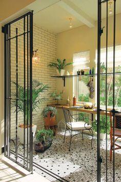 Interior Living Room Design Trends for 2019 - Interior Design Apartment Balcony Decorating, Interior Decorating, Small Balcony Design, Estilo Tropical, Deco Originale, House Goals, Home Office Decor, Architecture, Home Deco