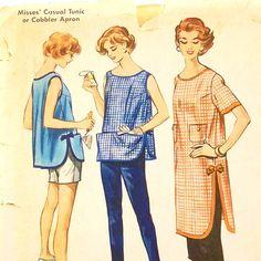 Vintage Pierre Cardin Pattern McCalls 2243 1950s Apron by Revvie1, $24.00
