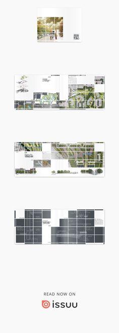 Landscape Architecture Portfolio  My Undergraduate Work