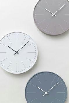 Минималистичные настенные часы dandelion nendo #designinterior #decor #interiordesign #clock #walldecor #дизайнинтерьеров