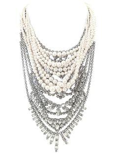 TOM BINNS 'Grande Dame' tangled necklace