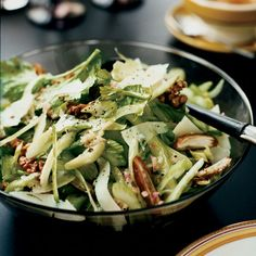 Celery Salad with Walnuts, Dates and Pecorino | This impressive cool-weather salad is an extraordinarily addictive mix of sweet, crunchy and salty ingredients.