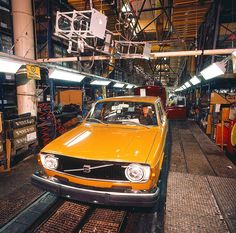 Volvo 140-series assembly line Halifax | Flickr - Photo Sharing!