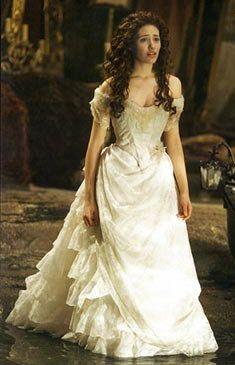 Emmy rossum phantom of the opera dress google search for Phantom of the opera wedding dress