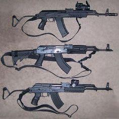 <3 assault rifles