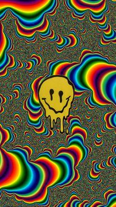Crazy Wallpaper, Hippie Wallpaper, Trippy Wallpaper, Mood Wallpaper, Iphone Wallpaper Tumblr Aesthetic, Retro Wallpaper, Colorful Wallpaper, Galaxy Wallpaper, Cartoon Wallpaper