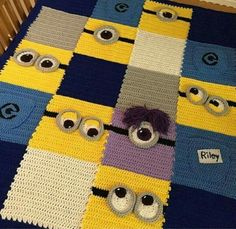 1000+ images about minions on Pinterest Crochet minions ...