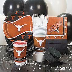 NCAA™ Texas Longhorns® Party Supplies