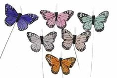 24 Pc Artificial Butterflies,Fake Butterflies,BF785 X 24 >>> Want additional info? Click on the image.