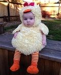 Baby Duck Homemade Costume - 2013 Halloween Costume Contest