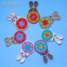 CROCHET PATTERN  Bunny in Bloom  crochet bunny pattern