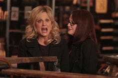 """""""Ron and Diane"""" / Parks and Recreation / Pawnee Goddess, Parks And Recs, Leslie Knope, Love Park, Amy Poehler, Parks And Recreation, Cute Photos, Favorite Tv Shows, Picture Photo"""