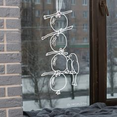 Vogelbollen window drawing - Home Page Fall Drawings, Window Drawings, Chalk Markers, Window Art, Chalkboard Art, Chalk Art, Holidays And Events, Fall Decor, Stencils