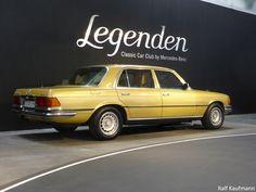 Legenden #ClassicCarClub - #Hagenlocher Garage für Young- und Oldtimer; hier: S-Klasse #W116, #450SEL 6.9