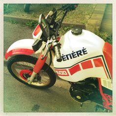 #Yamaha #XT600 Z #Tenere #1VJ