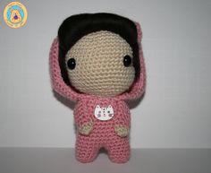 Kigurumi Neko de CrochetinYou en Etsy