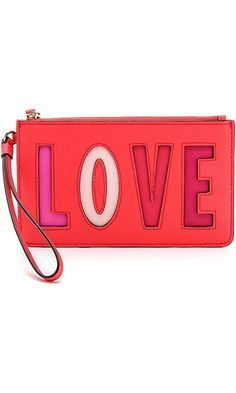 Kate Spade New York Women's Love Birds Slim Bee Wristlet, Sweetheart Pink, One Size Best Price
