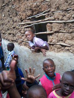 Kibera Slum in Nairobi,Kenya