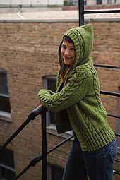Central park hoodie pattern