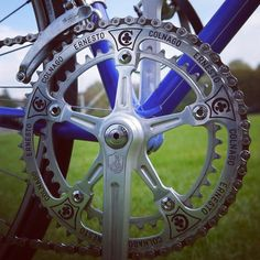 Beautiful pantographed chainring from our Colnago Super