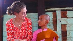 Buddhist nuns are everywhere among the streets of Myanmar — of all different ages, some as young as 5. The nunnery is a safe place in a country where poor girls have very little hope for a safe future free of human trafficking.