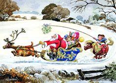 Thelwell Christmas Funny Horse Memes, Funny Horse Pictures, Christmas Card Pictures, Christmas Cards, Christmas Ideas, Horse Cartoon, Animal Cards, Funny Animals, Animal Funnies